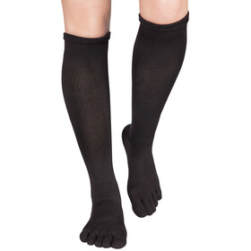 Knitido Asymmetric Compression TS 2.0 Running Socks, noir